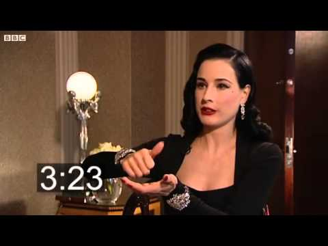 Five Minutes With: Dita Von Teese