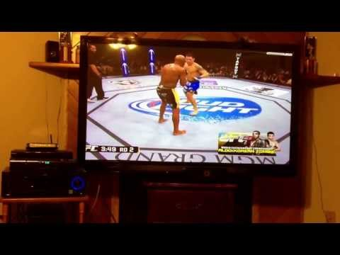 Anderson Silva knocked out reaction