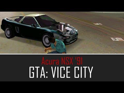 Carro Acura Nsx '91 - Mod Gta:vc