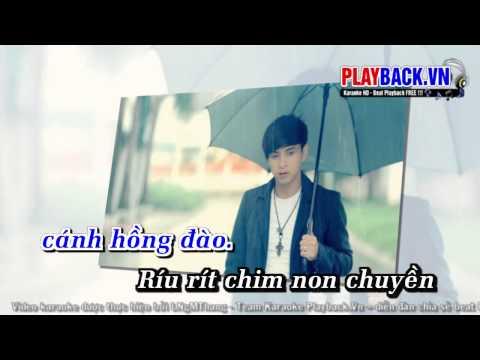 Karaoke Con Buom Xuan   Ho Quang Hieu   PlayBack vn