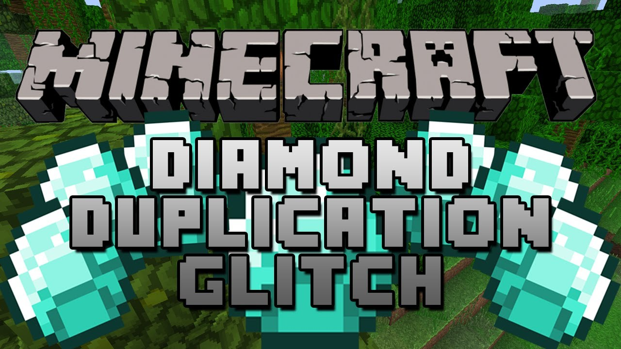 Minecraft 1 3 2 Diamond Duplication Glitch Unlimited