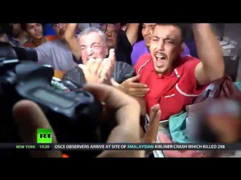 2014 July 20 Worldwide Protest Palestinians in Gaza the Israel Jewish Crisis