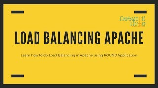 Load Balancing Apache Server How Set Up Load Balancing