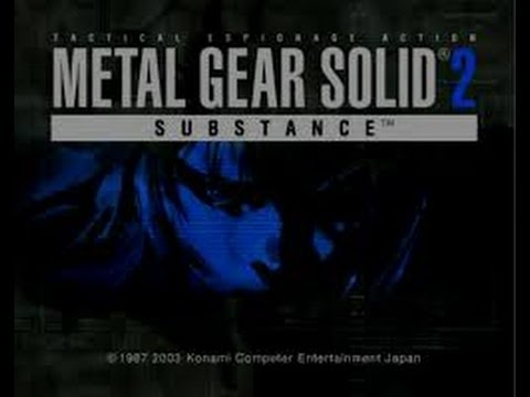 MGS 2. VR Mission Pliskin Eliminate All 1-10