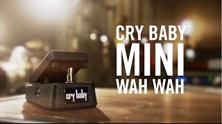 Watch the Trade Secrets Video, Dunlop CBM95 Cry Baby Mini Wah Pedal Video