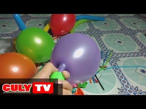 Cùng chơi đồ chơi bơm bong bóng nhiều màu sắc  | bubble pump | children toy