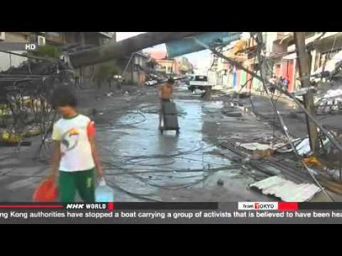 UN  2 5 mil  people in Philippines need food aid