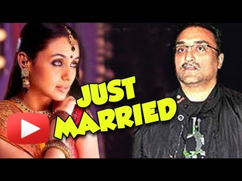 CONFIRMED - Rani Mukherji Aditya Chopra Gets Married