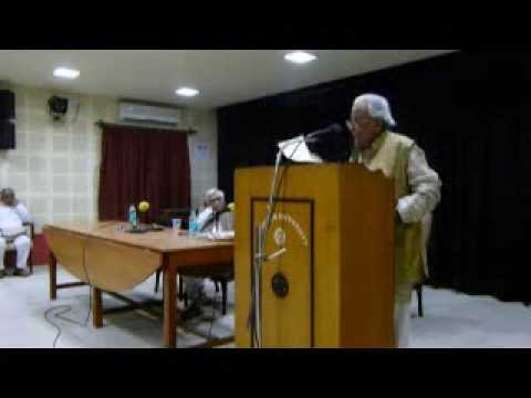 Alokranjan Dashgupta Shakti Chattopadhyay memorial Lecture 2013
