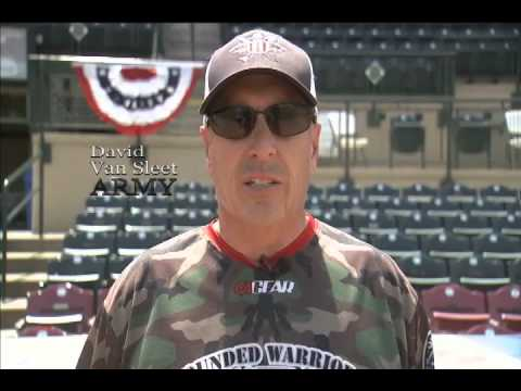 Wounded Warriors Amputee Softball Team