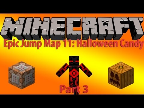 Minecraft: Epic Jump Map Halloween Candy Part 3 l The Epic Finale!!