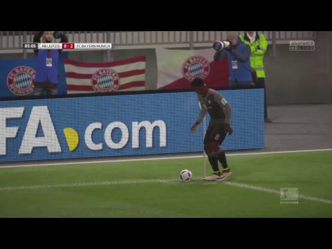#438 FIFA 17 PS4 Career mode S7E31 // RB LEIPZIG Vs BAYERN MUNCHEN - Bundesliga - Matchday 18