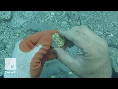 $1 million in 300 year old treasure recovered off Florida coast | Mashable