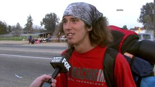 Kai the Homeless Hitchhiker with a Hatchet Bleeped Interview
