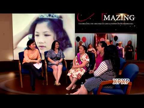 XAV PAUB XAV POM: Special guest Sue Yang, MN Miss Amazing 2015.
