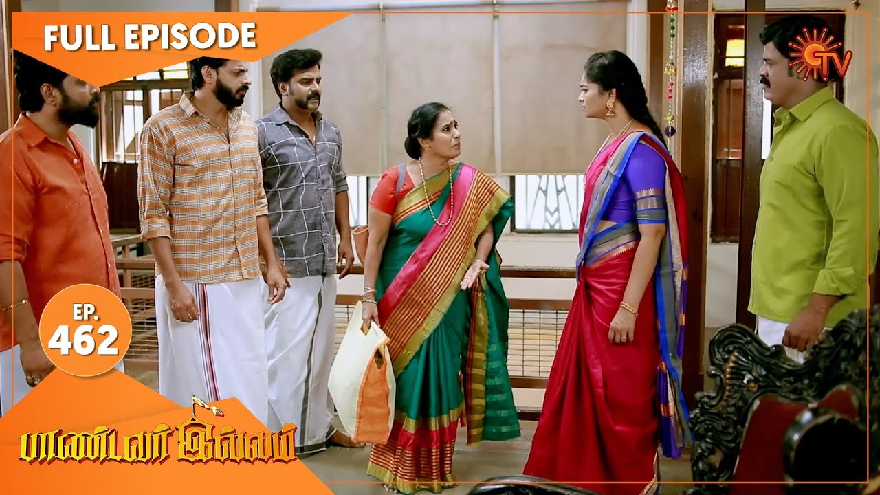 Pandavar Illam - Ep 462 | 02 June 2021 | Sun TV Serial | Tamil Serial