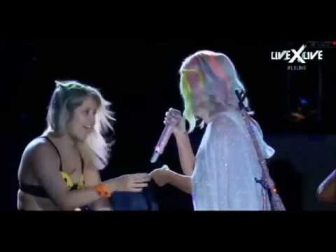 Rayane & Katy Perry - Rock in Rio 2015