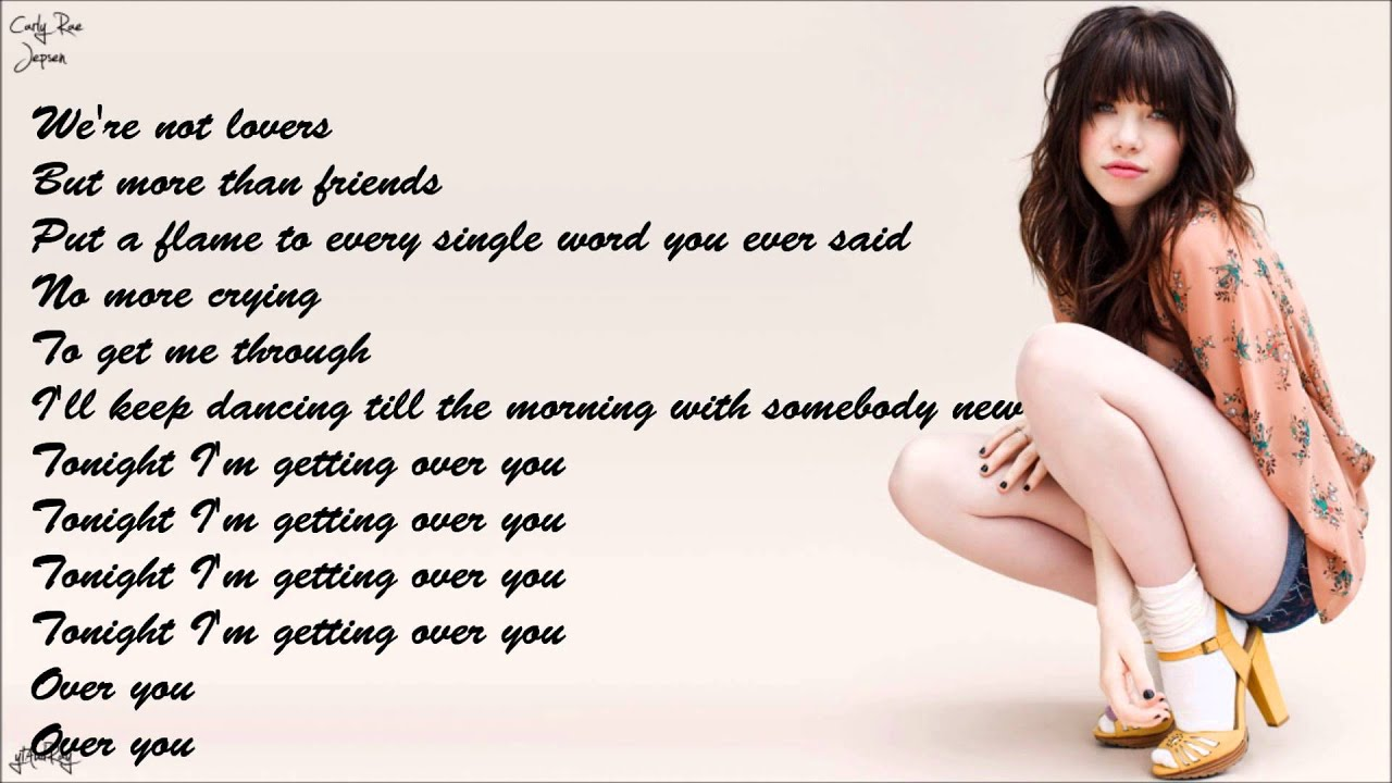 Getting Over You Carly Rae Jepsen