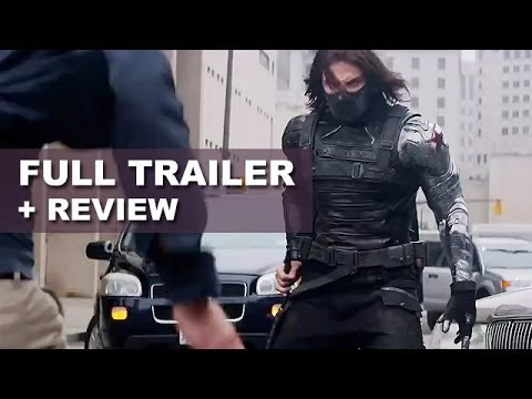 Captain America 2 The Winter Soldier Official Trailer 2014 + Trailer Review : HD PLUS