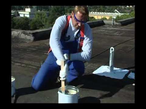 Impermeabilizzazione di tetti civili e industriali su for Guaina liquida mapei