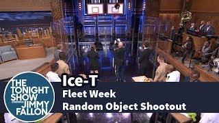 Fleet Week Random Object Shootout with Ice-T