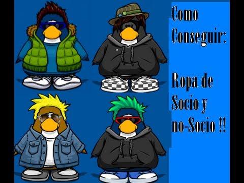 Club Penguin: Como tener ropa, artículos de socio y no-socio (SIN PROGRAMA)