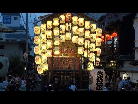 京都・祇園祭の後祭の宵山期間始まる