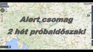 1. Riasztáskezelő próbaidőszak aktiválása, járműkövetés, nyomkövetés - easyTRACK