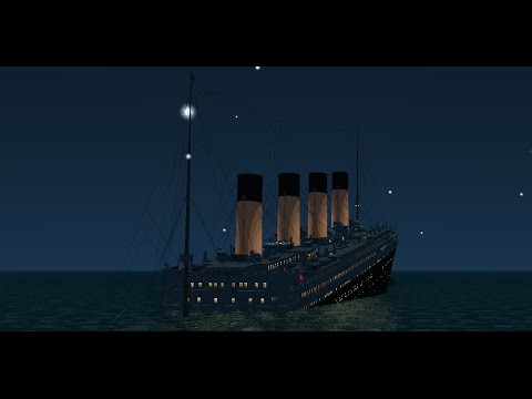 Titanic tribute for the 105 th anniversary Virtual Sailor/ Vehicle Simualtor