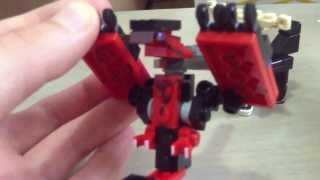 Lego Pokemon X And Y Yveltal And Xerneas.