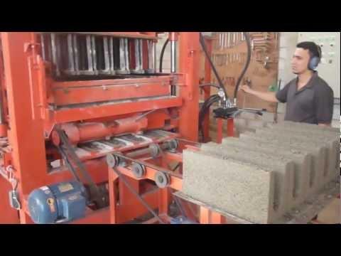 Maquina de bloco Hidraulica 1 - Go