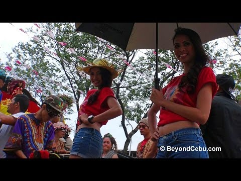 Cebu Sinulog Festival Street Parade