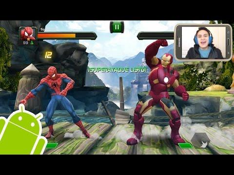 Increible Juego de Peleas para Android - Batalla de Superhéroes
