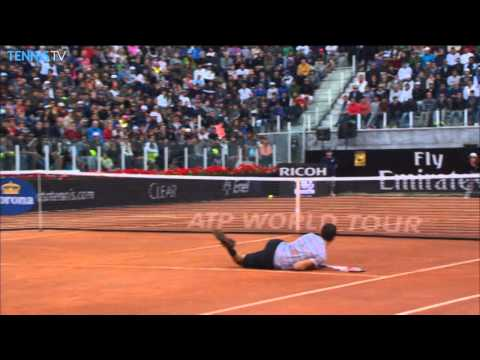 The Best Tennis Hot Shots From 2014 Rome