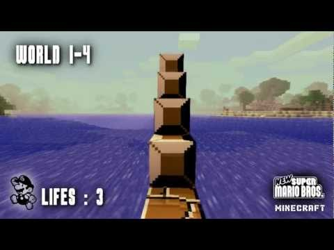 First Person Super Mario Bros. in Minecraft
