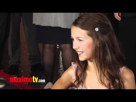 "Emma Fuhrmann ""The Magic of Belle Isle"" Premiere ARRIVALS - Maximo TV Video"