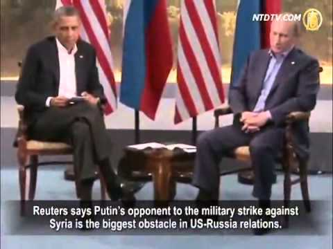 Putin and Obama In Disagreement on Syria at G20. Xi Jinping Stands Alongside Russia