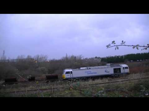Silver Class 60066 with Trostre Steels 14 12 13
