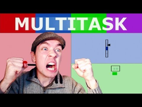 Multitask | MOST BADASS GAME EVER! | Awesome Browser Based Game