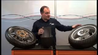 Presiones  de neumáticos en las motocicletas