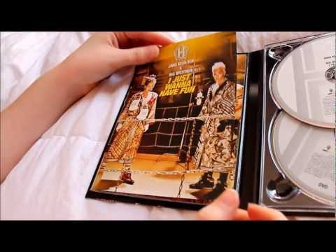 Team H Jang Keun Suk X Big Brother I Just Wanna Have Fun CD+DVD ver unboxing