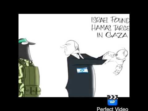 Isreal pounds Hamas in Gaza