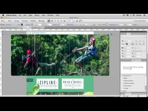 tutorial: How To Create A Hero Slideshow for your Homepage with Adobe Muse CC
