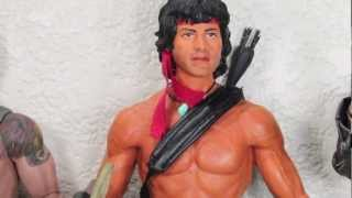 Rambo First Blood Part 2 Hot Toys John J. Rambo 1/6 Scale