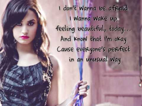 Demi Lovato - Believe in me (lyrics on screen) HQ