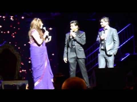 Shahrukh Khan & couple from audience - Temptation Reloaded Perth- Part 1