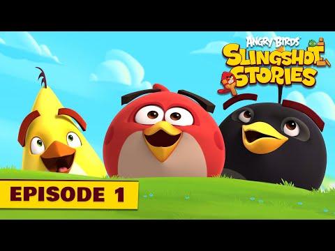 Angry Birds Slingshot 1 - První level