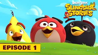 Angry Birds Slingshot 1 - Prvý level