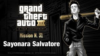 GTA 3 IPad Walkthrough Mission #31 Sayonara