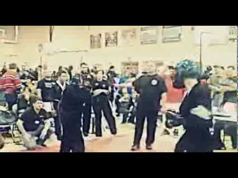 Tedrick Macklin- 1st Martial Arts Video